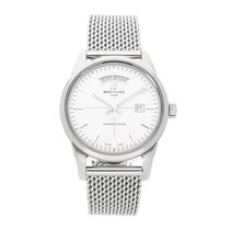 Breitling Transocean Day & Date Acero 43mm Plata Sin cifras