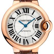 Cartier Ballon Bleu 33mm Oro rosa 33mm Argento Romano