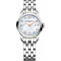 Baume & Mercier Clifton Steel 27.5mm Mother of pearl