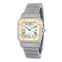 Cartier Gold/Steel 29mm Automatic W20058C4 pre-owned