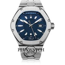 Dietrich Steel 42mm Automatic TC-1 BLUE         TC1BLUE new