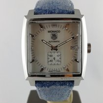 TAG Heuer Monaco Lady Steel Mother of pearl