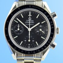 Omega Speedmaster Reduced Сталь 39mm Чёрный