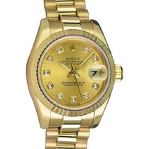 Rolex Lady-Datejust 179178 Sehr gut 26mm