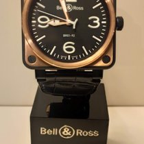 Bell & Ross BR 01-92 new 2012 Automatic Watch with original box and original papers BR01-92-S