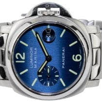 Panerai Luminor Marina Automatic Steel 40,00mm Blue Arabic numerals