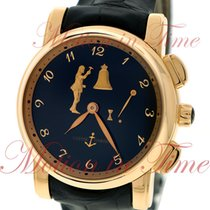 Ulysse Nardin Hourstriker Rose gold 42mm Black Arabic numerals United States of America, New York, New York