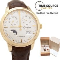 Glashütte Original Senator Calendar Moon 18K Yellow Gold Watch
