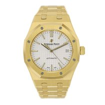 Audemars Piguet Ladies Royal Oak 37mm 18K Yellow Gold Watch