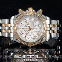 百年靈 (Breitling) Chronomat Evolution Chronograph 44mm Stahl/Gol...