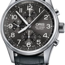 Oris Big Crown ProPilot Chronograph Steel 44mm Grey United States of America, New York, Airmont