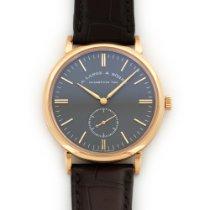 A. Lange & Söhne Rose Gold Saxonia Watch Ref. 216.033