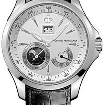 Girard Perregaux Traveller Steel 44mm Silver United States of America, New York, New York City