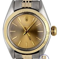 Rolex Ladies Rolex Oyster Perpetual 6719 Two Tone Gold...