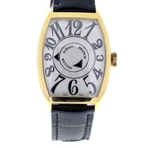 Franck Muller Double Mystery new 47mm Yellow gold