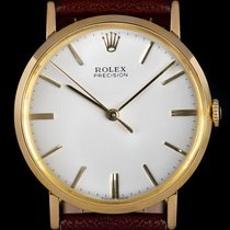 Rolex 9659 Yellow gold Oyster Precision 33.5mm