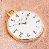 Longines 18K Gold Pocket watch Full Set