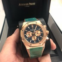 Audemars Piguet Royal Oak Chronograph Rose gold 41mm Blue No numerals United States of America, Florida, Miami