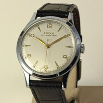 Doxa Jumbo Vintage Steel 37,5mm 1948 rare