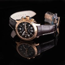 Breguet Type XX - XXI - XXII Rose gold 42.5mm Silver United States of America, California, San Mateo