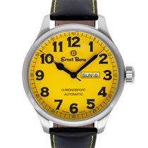 Ernst Benz Chronosport GC10219 Stainless Steel Yellow dial...