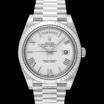 Rolex Day-Date 40 White gold United States of America, California, San Mateo