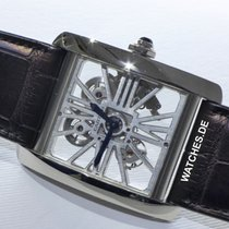 Cartier Tank MC Palladium 34mm Transparent
