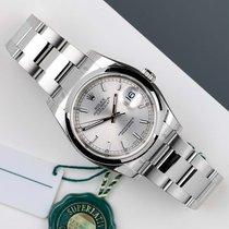 Rolex Staal Automatisch Zilver 36mm nieuw Datejust