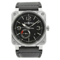 Bell & Ross BR 03-97 Réserve de Marche Steel 42mm Black United States of America, New York, New York