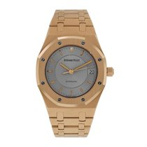 Audemars Piguet Royal Oak Rose gold 36mm Silver No numerals United States of America, New York, New York