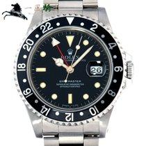 Rolex GMT-Master Acél 40mm Fekete