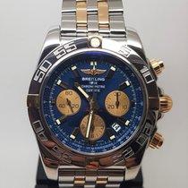 Breitling Chronomat 44 Arany/Acél 44mm Kék Számjegyek nélkül