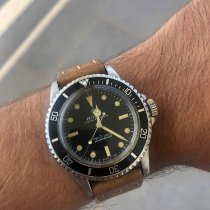 Rolex Submariner (No Date) Acier 40mm Noir Sans chiffres France, Bastia