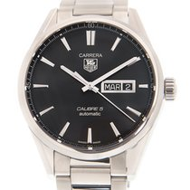 TAG Heuer Carrera Calibre 5 WAR201A.BA0723 new