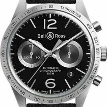 Bell & Ross BR V1 BRV126-BS-ST/SF New Steel 42mm Automatic United States of America, Florida, Sarasota