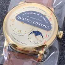 A. Lange & Söhne Oro amarillo Cuerda manual 109.021 nuevo