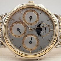 Audemars Piguet White gold Automatic Silver 35mm pre-owned