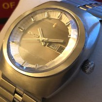 Enicar new Automatic Center Seconds Only Original Parts 41mm Steel Mineral Glass