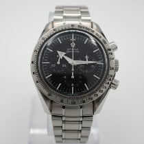 Omega Speedmaster Broad Arrow Сталь 42mm Чёрный Без цифр