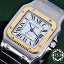 Cartier pre-owned Automatic 32mm White Sapphire crystal 10 ATM