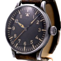 Wempe Historic Pilots Watch from WWII Stainless Steel Bj-1940
