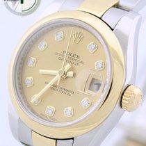 Rolex Lady-Daytejust Diamantzifferblatt Ref.: 179163 B+P LC100