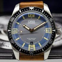 Oris 733-7707-4065 Divers Sixty-Five Blue/Grey Dial (27256)
