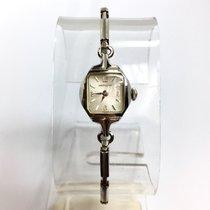ハミルトン (Hamilton) White Gold-Plated Ladies/Junior Watch