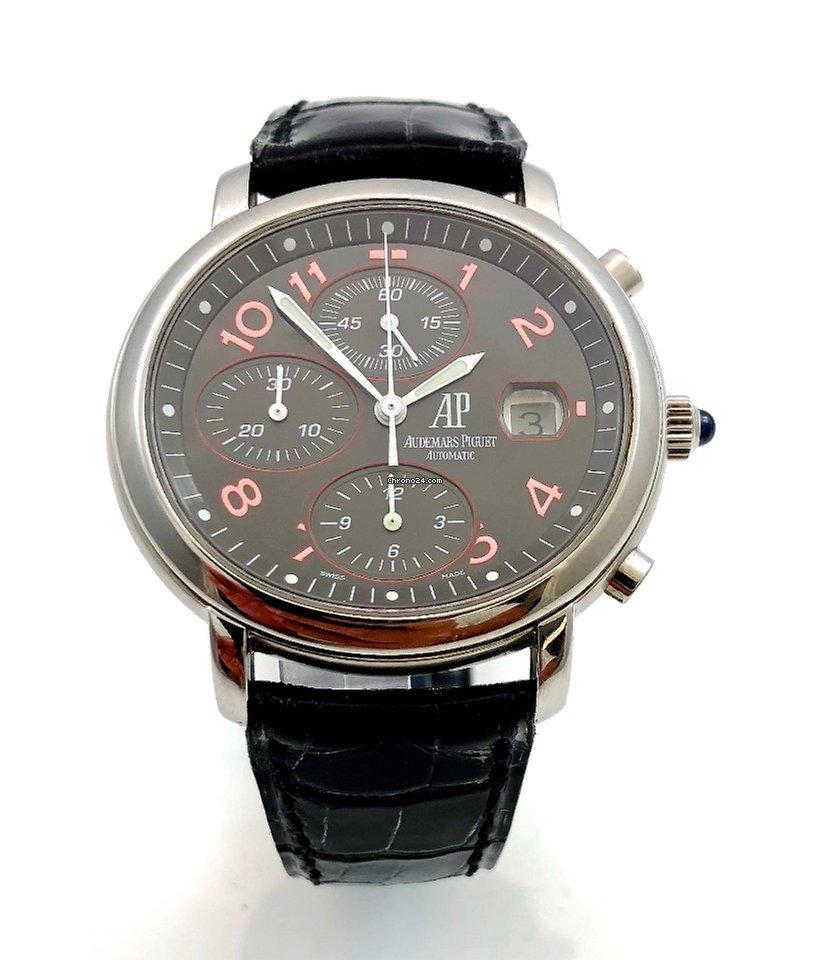 audemars piguet millenary chronograph black red arabic schwarz f r kaufen von einem. Black Bedroom Furniture Sets. Home Design Ideas