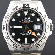 Rolex Explorer II Steel 42MM, Black Dial Box&Papers/2012 MINT