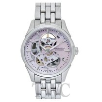 Hamilton Jazzmaster Lady Steel 36mm Transparent