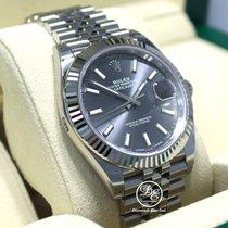 Rolex Datejust 126334 41mm Jubilee Rhodium Dial 18k White Gold...