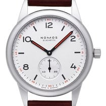 NOMOS Club Automat Steel 40,00mm White