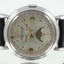 Jaeger-LeCoultre Stål Manuelt Moon Phase Calendar brugt